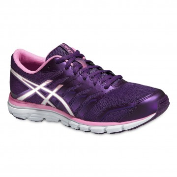Pantofi Alergare, Asics, Gel-Zaraca 4, Natural, Mov-Gri, Femei 1