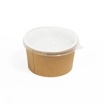 Boluri-din-carton-kraft-pentru-supa-cu-capac-transparent-16-oz-BSC-002